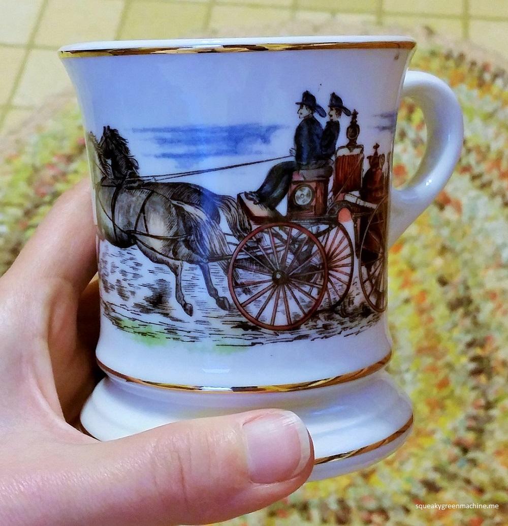 shaving mug design