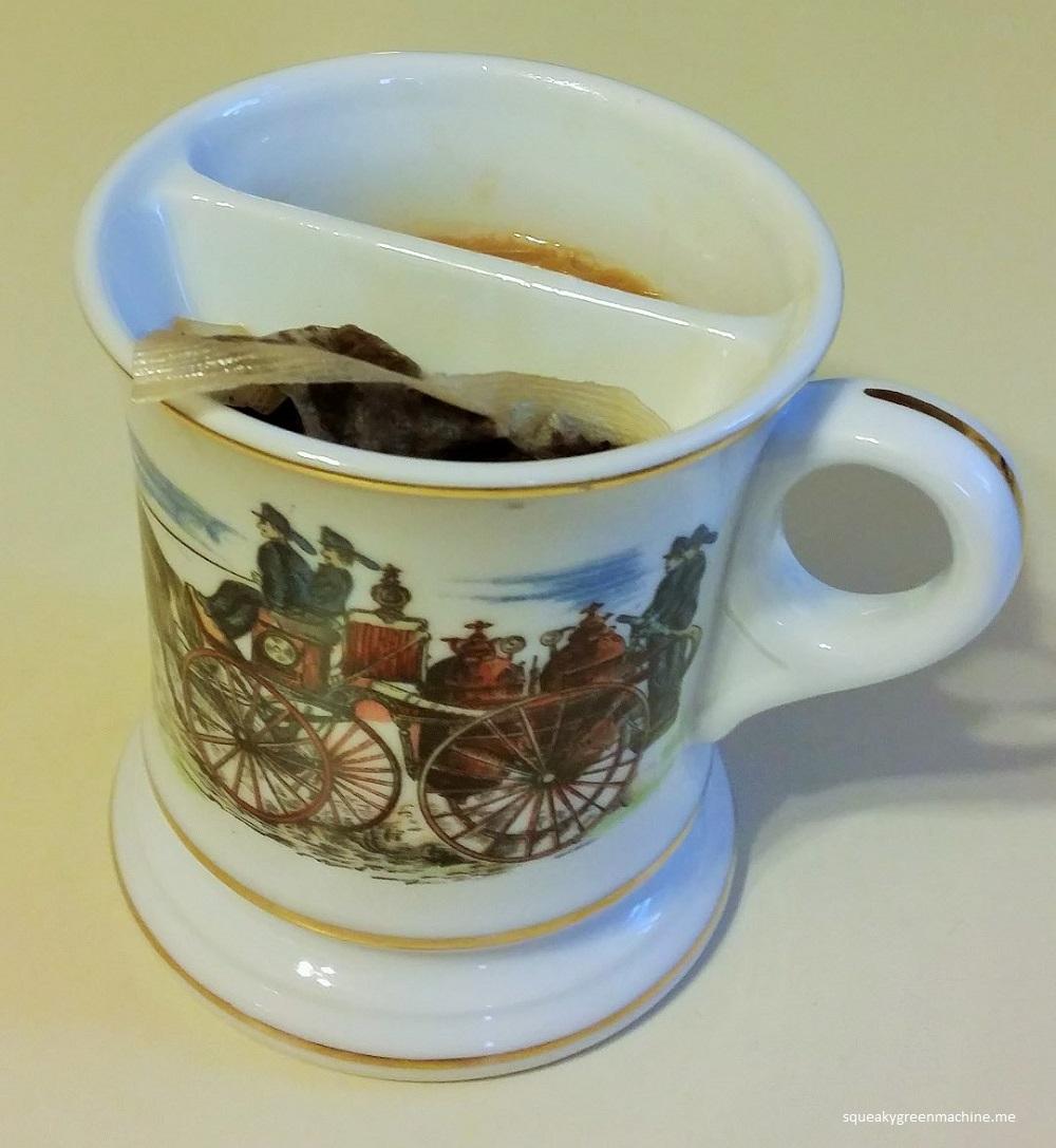 shaving mug tea cup